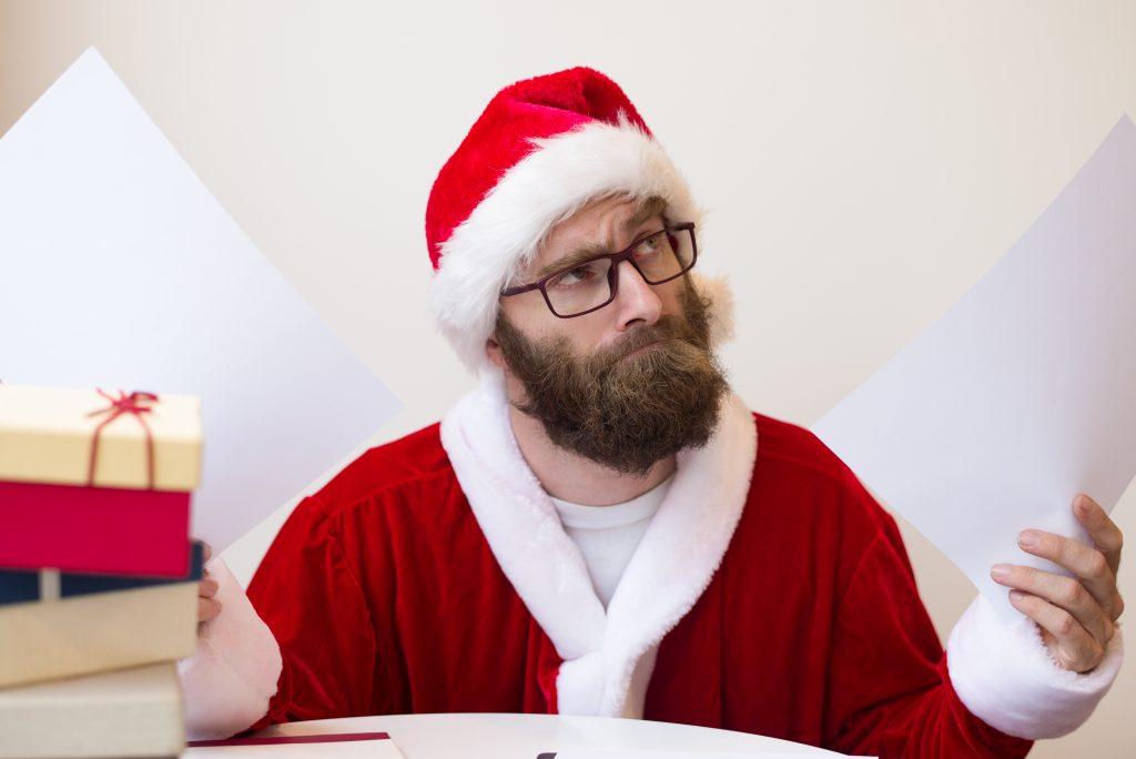 campaña de Navidad con control horario