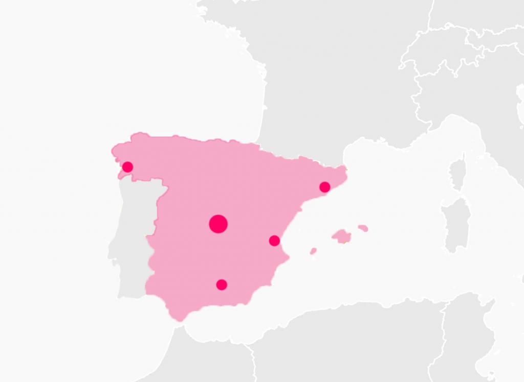 control de accesos en Barcelona Granada Valencia Vigo