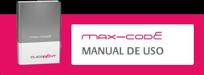 Manual de uso de Max-Code, control de presencias