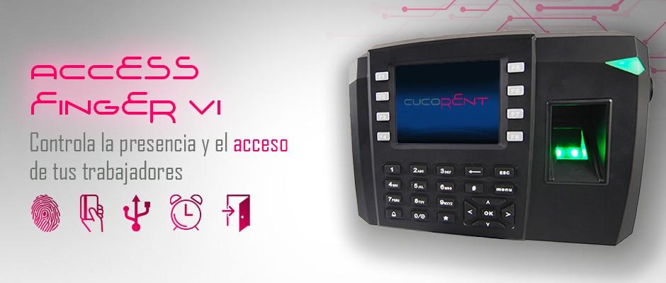 Access Finger VI, sistema de control de accesos
