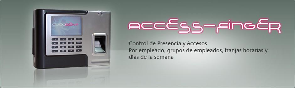 Acces-Finger, sistema de control de accesos
