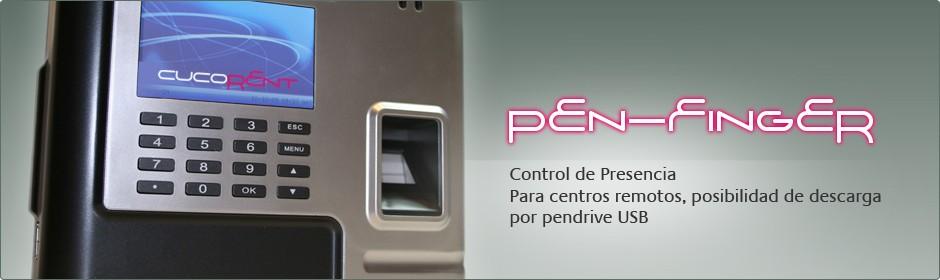 Pen-Finger, sistema de control de presencias