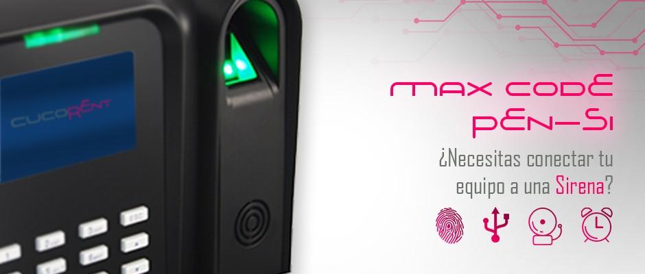 Max Code Si, sistema de control de presencias