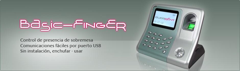 Basic-Finger, sistema de control de presencias