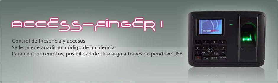 Acces-Finger I, sistema de control de accesos